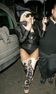 Lady Gaga in London, April 2009.